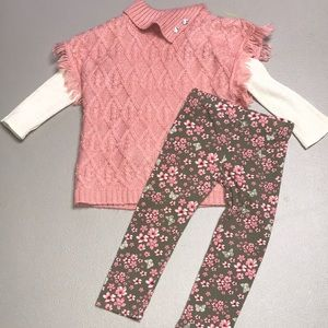 Little lass three-piece outfit